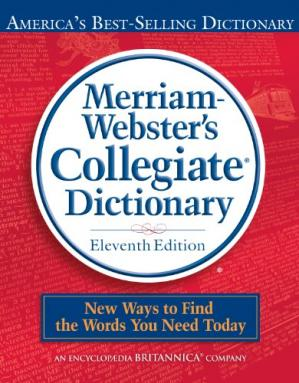 Book cover Merriam-Webster's Collegiate Dictionary, 11th Edition