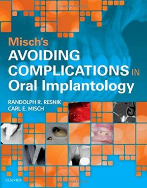 Εξώφυλλο βιβλίου Misch's Avoiding Complications in Oral Implantology