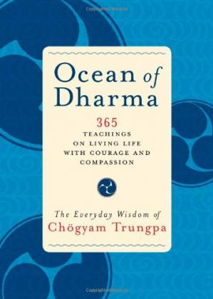 Okładka książki Ocean of Dharma: The Everyday Wisdom of Chogyam Trungpa