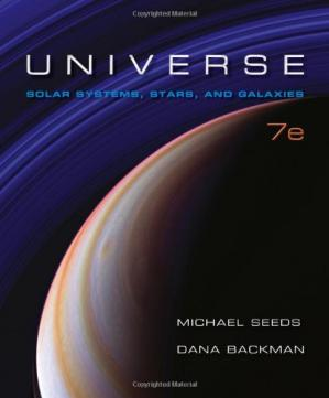 Book cover Universe: Solar System, Stars, and Galaxies, 7th Edition