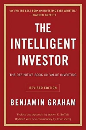 Book cover The Intelligent Investor: The Definitive Book on Value Investing