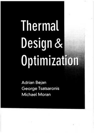 Okładka książki Thermal Design and Optimization