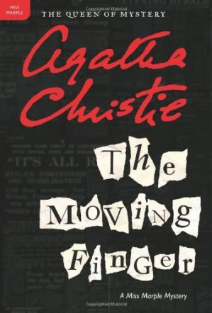 Book cover The Moving Finger