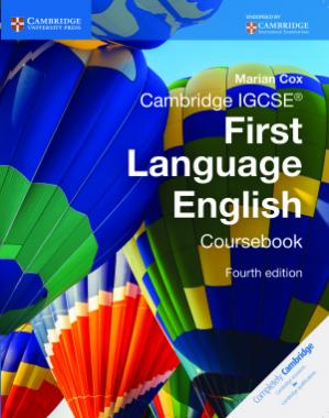 Обложка книги Cambridge IGCSE First Language English. Coursebook