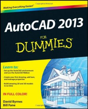 Book cover AutoCAD 2013 For Dummies