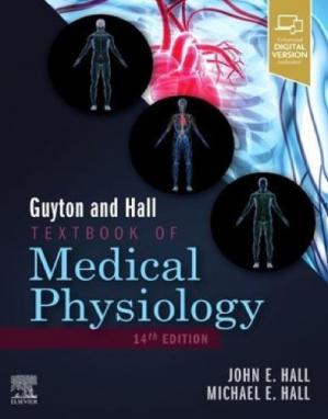 Book cover Guyton and Hall Textbook of Medical Physiology