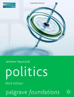 Book cover Politics, Second Edition (Palgrave Foundations S.)