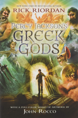 Book cover Percy Jackson's Greek Gods