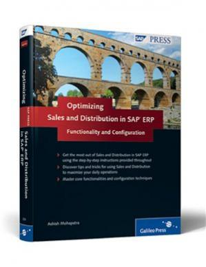 书籍封面 Optimizing Sales and Distribution in SAP ERP: Functionality and Configuration