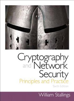 Book cover Cryptography and Network Security: Principles and Practice (6th Edition)