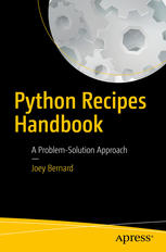 Copertina Python Recipes Handbook: A Problem-Solution Approach