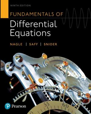 Book cover Fundamentals of Differential Equations