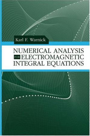 पुस्तक कवर Numerical analysis for electromagnetic integral equations