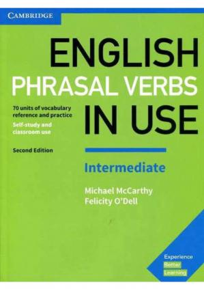 पुस्तक कवर English Phrasal Verbs in Use Intermediate