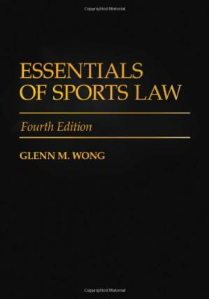 Okładka książki Essentials of Sports Law, Fourth Edition