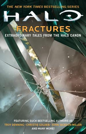 A capa do livro Fractures: Extraordinary Tales from the Halo Canon