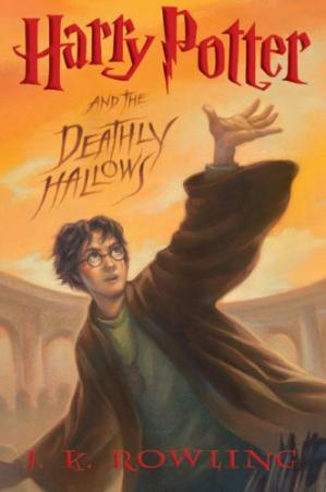 Book cover Harry Potter and the Deathly Hallows (Book 7)