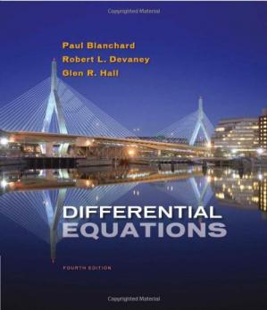 Book cover Differential Equations