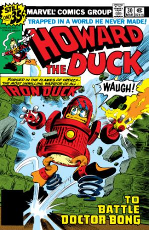 Book cover Howard the Duck
