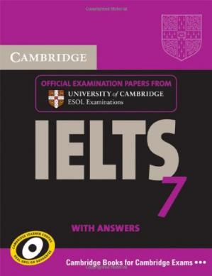 Обложка книги Cambridge IELTS 7 Student's Book with Answers: Examination Papers from University of Cambridge ESOL Examinations (IELTS Practice Tests)