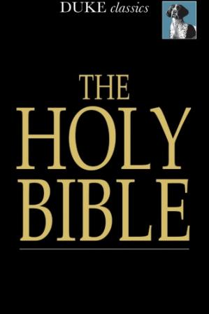 पुस्तक कवर The holy Bible old and new testaments, King James Version