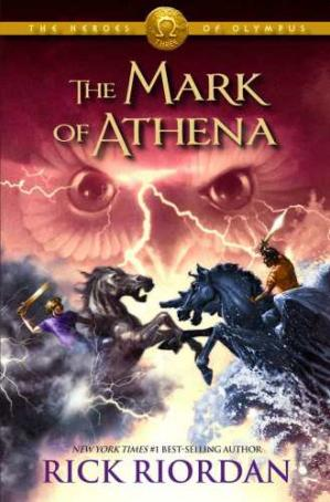书籍封面 The Mark of Athena