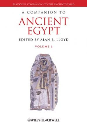 Book cover A Companion to Ancient Egypt: Two volume Set