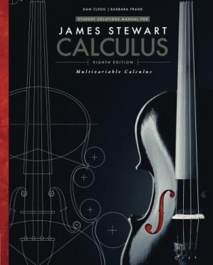 Copertina Student Solutions Manual, Chapters 10-17 for Stewart's Multivariable Calculus, 8th