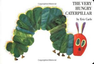 表紙 The Very Hungry Caterpillar