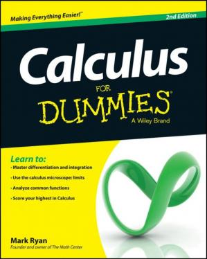 A capa do livro Calculus for Dummies, 2nd Edition