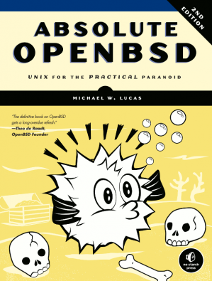 غلاف الكتاب Absolute OpenBSD: UNIX for the practical paranoid
