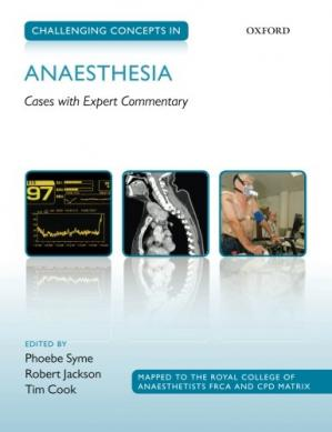 Okładka książki Challenging Concepts in Anaesthesia: Cases with Expert Commentary