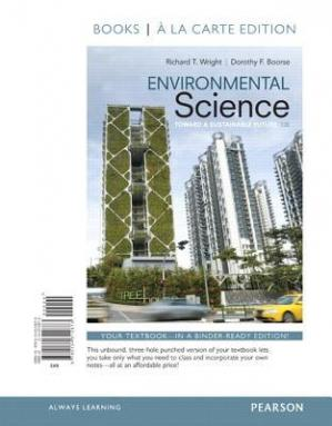 Book cover Environmental Science: Toward a Sustainable Future