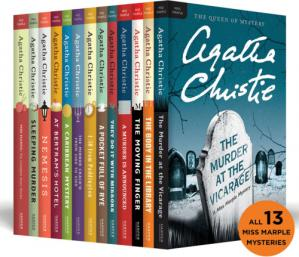 Book cover The Complete Miss Marple Collection