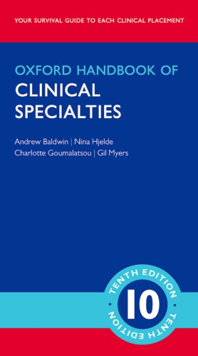 Book cover Oxford Handbook of Clinical Specialties