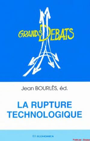 Book cover La rupture technologique  French