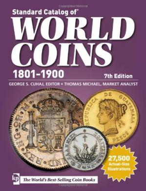 Book cover Standard Catalog of World Coins - 1801-1900