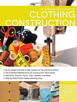Buchdeckel The complete photo guide to clothing construction