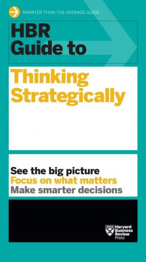 Copertina HBR Guide to Thinking Strategically