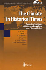 Sampul buku The Climate in Historical Times: Towards a Synthesis of Holocene Proxy Data and Climate Models