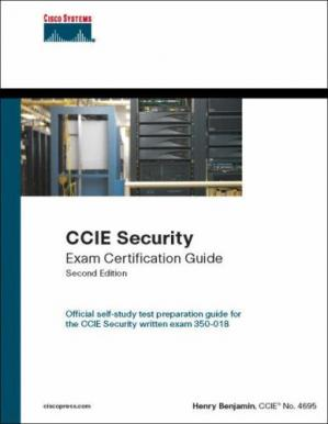 Copertina CCIE Self-Study: CCIE Security Exam Certification Guide