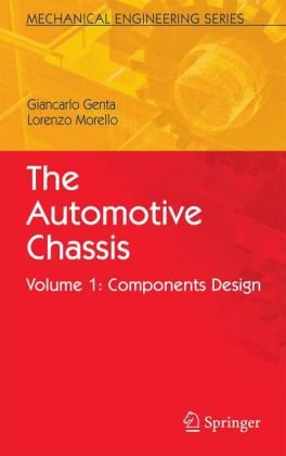 Book cover The Automotive Chassis Volume 1 Components Design