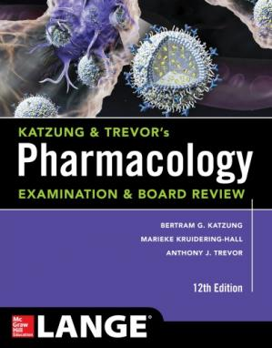 书籍封面 Katzung & Trevor's Pharmacology Examination and Board Review