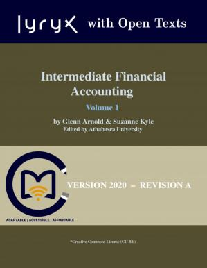 Book cover Intermediate Financial Accounting, Volume 1