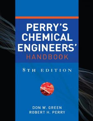 A capa do livro Perry's Chemical Engineers' Handbook