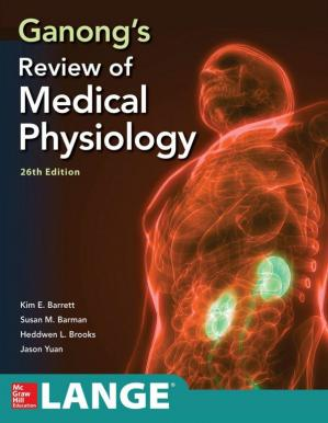 کتاب کی کور جلد Ganong's Review of Medical Physiology