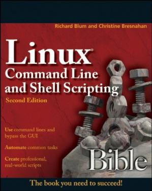 पुस्तक कवर Linux Command Line and Shell Scripting Bible, 2nd Edition