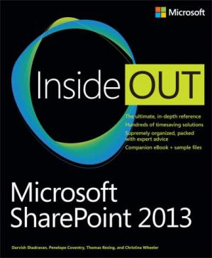 წიგნის ყდა Microsoft SharePoint 2013 Inside Out
