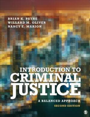 Book cover Introduction to Criminal Justice: A Balanced Approach