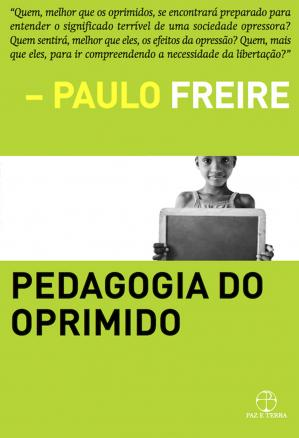 Book cover Pedagogia do Oprimido